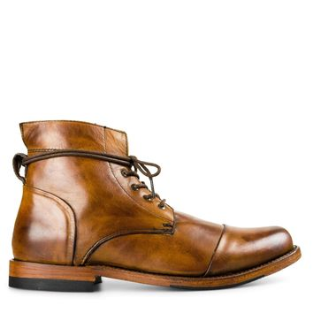 Sutro Vermont Leather Boot in Whiskey