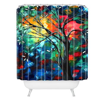 Madart Inc. Spring Blossoms Shower Curtain