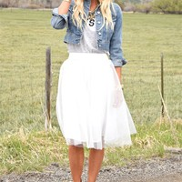 Luxe Tulle Skirts!