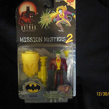 """BATMAN MISSION MASTERS 2 HYDRO ASSAULT JOKER  "" NO RESERVE"