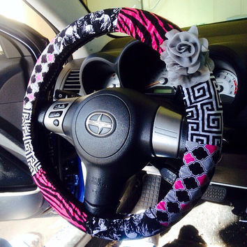 Walking Dead Car Steering Wheel Cover- Unique Automobile Accessories