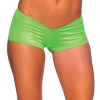 Go-Go Shorts - Neon Green