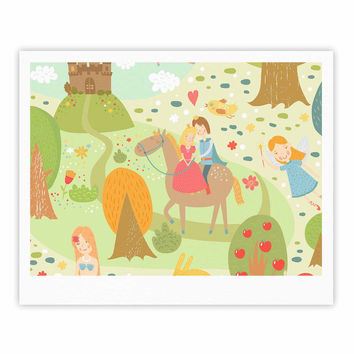 "Petit Griffin ""Fairy Tale"" Fantasy Illustration Fine Art Gallery Print"