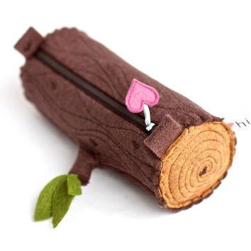 Pencil Pouch Log
