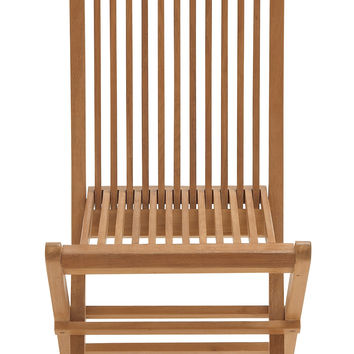 Comfortable Wood Teak Folding Chair