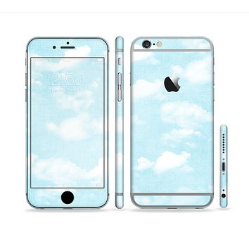 The Vintage Cloudy Skies Sectioned Skin Series for the Apple iPhone 6