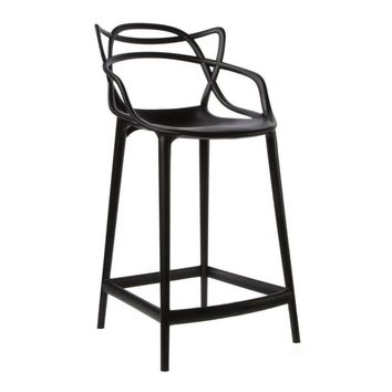 Modern Black or White Reproduction Starck Masters Counter Bar Stool