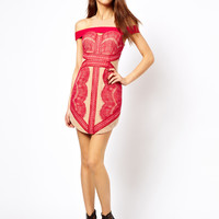 Three Floor Mischief Lace Dress