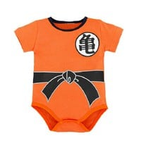 Baby Clothing Dragon Ball Z Goku Newborn Baby Boy Girl Romper Clothes Long Sleeve Infant Clothes Baby Jumpsuits