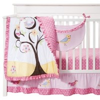 Sweet Jojo Designs 11pc Song Bird Crib Set