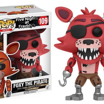 "Five Nights At Freddy's FOXY The Pirate 3.75"" Vinyl Figure Funko Pop"