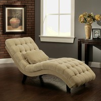 Thatcher Fabric Chaise Lounge | www.hayneedle.com
