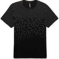 Neil Barrett - Polka-Dot Printed Cotton-Jersey T-shirt | MR PORTER