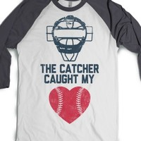 White/Asphalt T-Shirt | Cute Baseball Softball Gifts Shirts