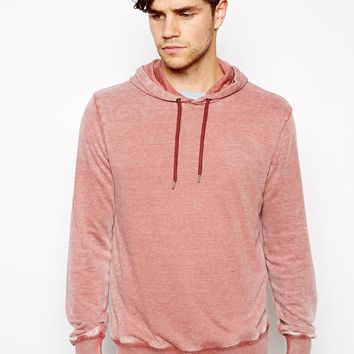 ASOS Hoodie With Burn Out