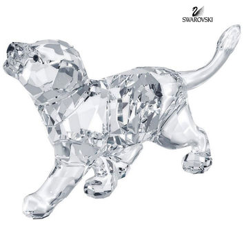 Swarovski Clear Crystal Figurine Animal LION CUB #1194148 New