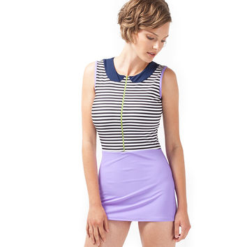 Lima Romper One Piece - Purple Sail