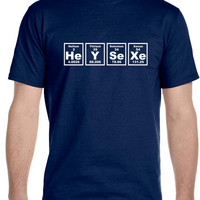 HeY_SeXe - Men's T-Shirt, Funny, Adult Fun