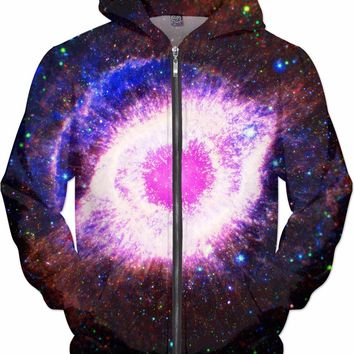Third Eye in Space [Helix Nebula] | Universe Galaxy Nebula Star Clothes | Rave & Festival Shirt
