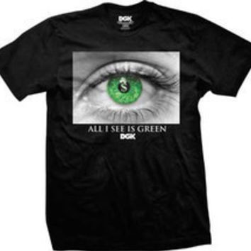 DGK All I See Is Green T-shirt