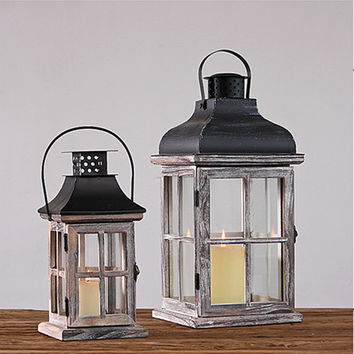 Farmhouse Style Lanterns