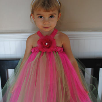 Bright Summer Tutu dress for infants, toddlers and little girls