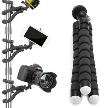 Flexible Tripod Gorilla Stand Mount Monopod Holder Octopus Camera Phone GoPro ORP
