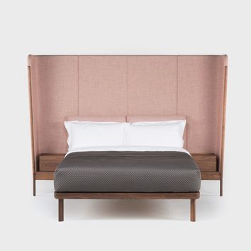 Tall Dubois Bed With Bedside Tables | Beds