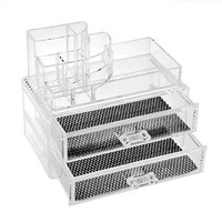 Cosmetics Organizer Clear Acrylic Makeup Organizer Holder Multiple Display