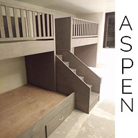 Aspen quads, Quad Bunkbeds for Adults
