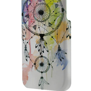 Best 3D Full Wrap Phone Case - Hard (PC) Cover with WaterColor DreamCatcher Design