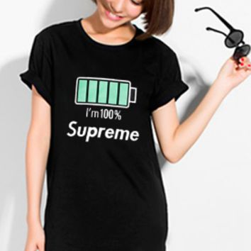 Cheap Women's and men's supreme t shirt for sale 85902898_0081