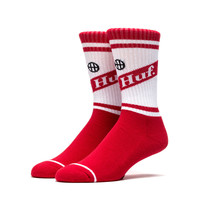 HUF - CAN CREW SOCKS SP16 // RED