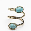 Free People Womens Stone Ring