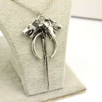 Shiny Gift New Arrival Stylish Jewelry Game Of Thrones Games Accessory Necklace [6058449153]