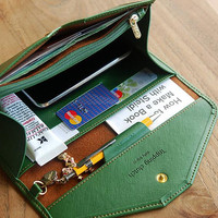 Wallet Clutch Money Card Holder