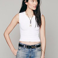 Intimately Womens Cropped Muscle Tank