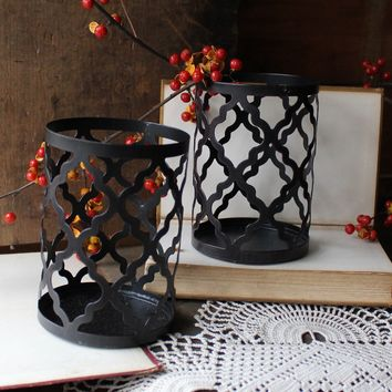 Scroll Candle Holders (Pair)