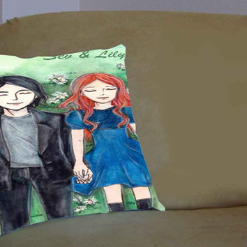 Severus Always love lily harry potter - Pillow Case, Pillow Cover, Custom Pillow Case **