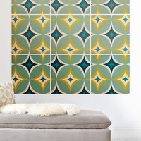Heather Dutton Astral Slingshot Wood Wall Mural