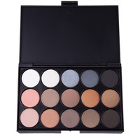 15 Color Professional Natural Pigment Matte Eyeshadow Set for Women Make Up Palette Cosmetic Makeup Eye Shadow Palette 1604256