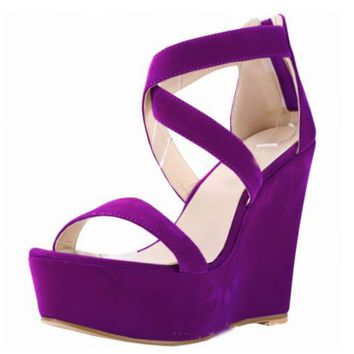 COLOR CROSS WEDGES