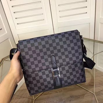 LV Louis Vuitton MEN'S NEW FASHION LEATHER CROSS BODY BAG