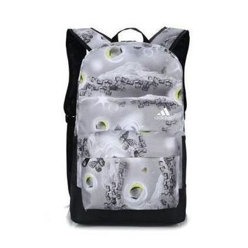 Adidas Fashion Butterfly Print Sport Shoulder Bag Travel Bag School Backpack