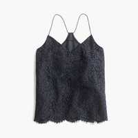 J.Crew Womens Tall Carrie Cami In Floral Lace