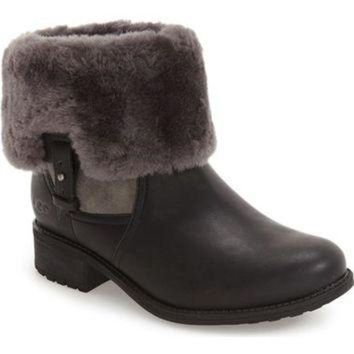 CREY1O UGG? 'Chyler' Genuine Shearling Cuff Bootie (Women) | Nordstrom
