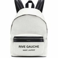 Rive Gauche canvas backpack