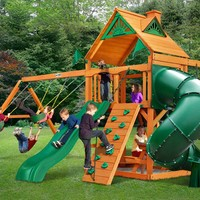 Gorilla Playsets Mountaineer Wooden Swing Set