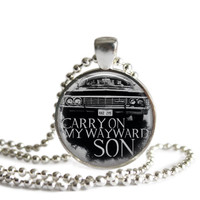 Impala Necklace Carry On My Wayward Son Supernatural Jewelry