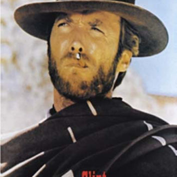 Clint Eastwood Good Bad and Ugly Movie Poster 24x36